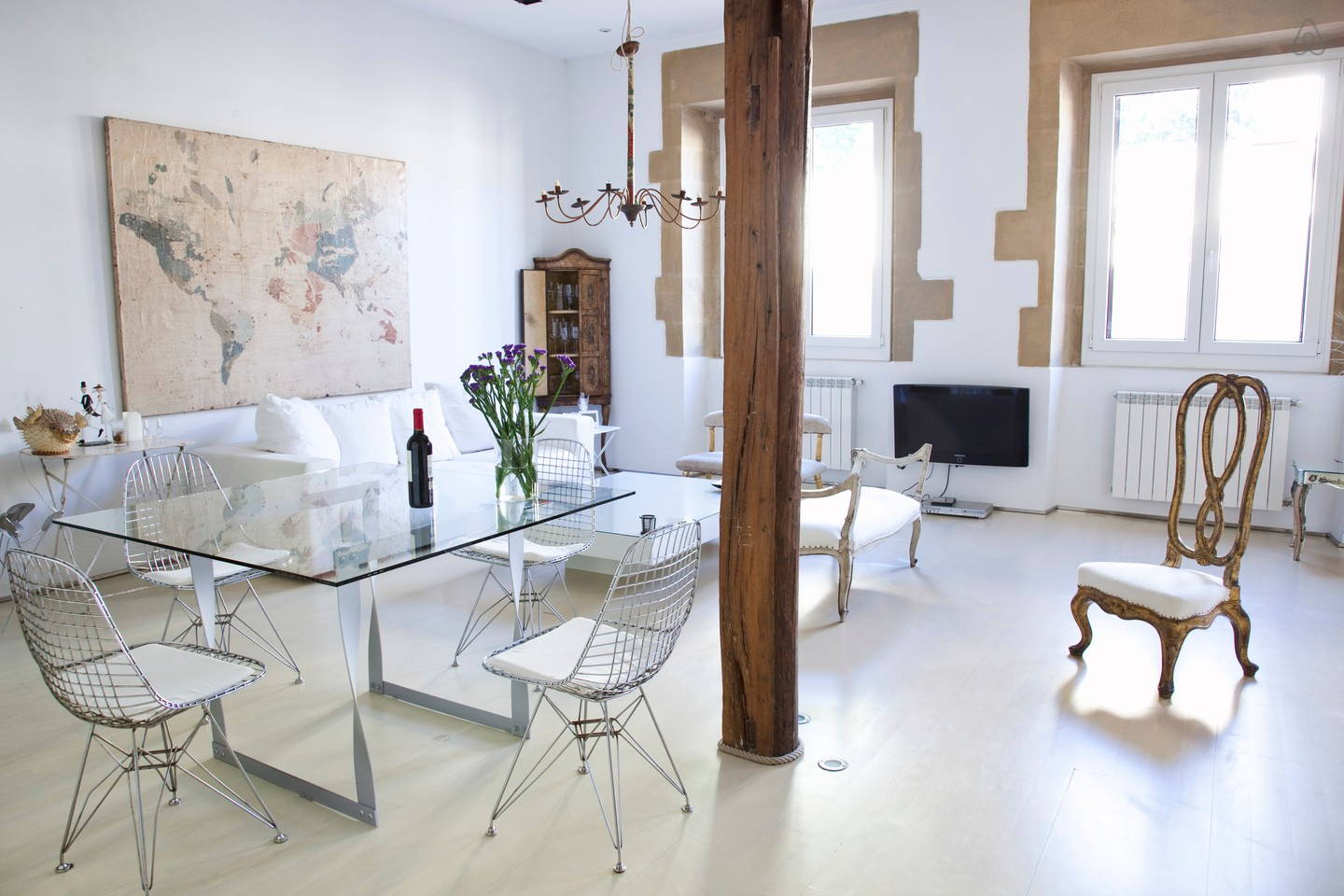 San Sebastian besto location old town luxury loft