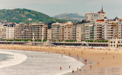 The Beaches in San Sebastian